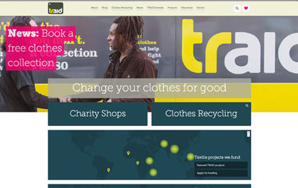 TRAID – www.traid.org.uk